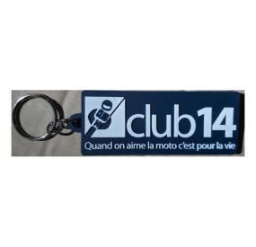 lot 10 Porte-clés Club 14